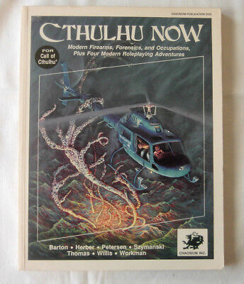 Cthulhu Now – Modern Firearms , Forensics , and Occupations - William A. Barton