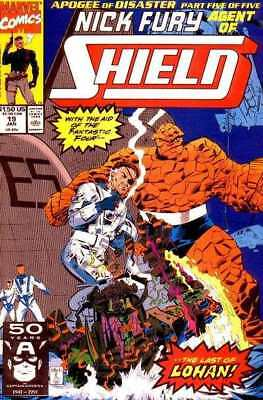 Nick Fury: Agent of SHIELD (1989 series) #19 in Near Mint condition