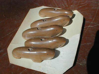 Antique Eskimo Carved Walrus Buttons
