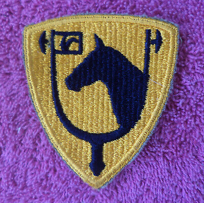 WW2 Military Patch, US CALVARY  (Cpl. Poma Collection)