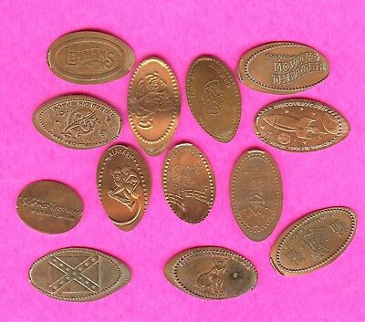 Weird and Unusual L@@K and see Elongated Smashed Penny Lot