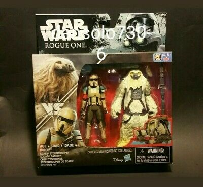 STAR WARS ROGUE ONE MORIFF & SCARIF STORMTROOPER SQUAD LEADER  2-PACK 3.75in.