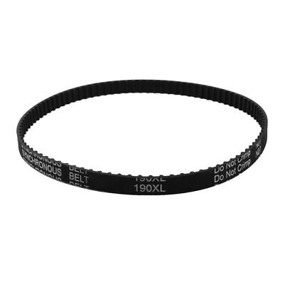 XL-190 Timing Belt 95 Teeth 9.5mm Width Black Rubber Cogged Industrial 19""