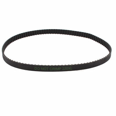 220XL Timing Belt 110 Teeth 10mm Width Black Rubber Cogged Industrial 22inch