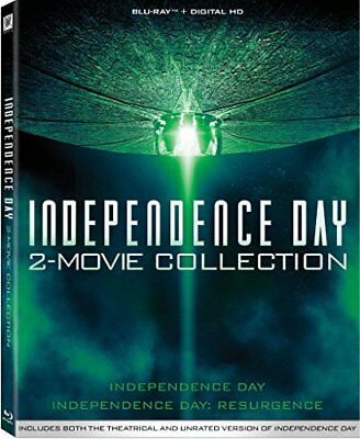 Independence Day-2 Movie Collection (Blu-Ray/Digital Hd/Id 1&2)