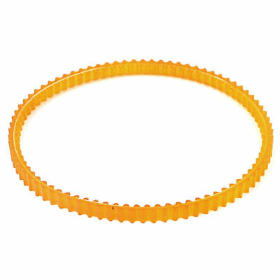 H● 280mm Girth Rubber PU Double Sided Multi Wedge Timing Belt Beige