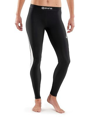SKINS Women's Dnamic Thermal Compression Long Tights black/Cloud X-Small New