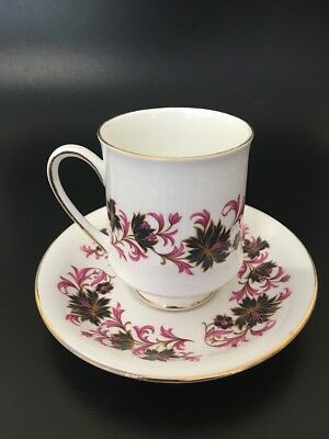 Paragon Bone China Duo - Michelle Pattern