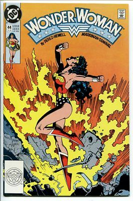 Wonder Woman #44 Copper Age Perez Dc Comics 1990 Nm-