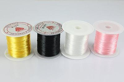 Strong Crystal Elastic Stretchy String Cord Thread Beading Craft Jewelry WL