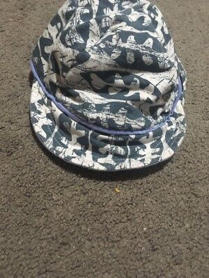 Baby Boys Bonds Blue And White Legionnaires Hat One Size Fits Most (EUC