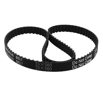 T5x560 Timing Belt  112-Tooth 10mm Width 5mm Pitch CNC Machine Synchronous 560mm