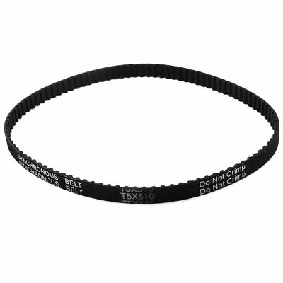 T5x510 Timing Belt 102-Tooth 10mm Width 5mm Pitch CNC Machine Synchronous 510mm
