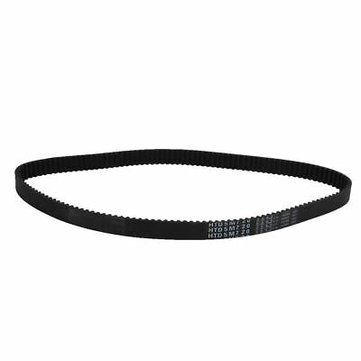 H● HTD5M 144 Teeth Engine Timing Belt Rubber Geared-Belt 720mm Girth 15mm Width