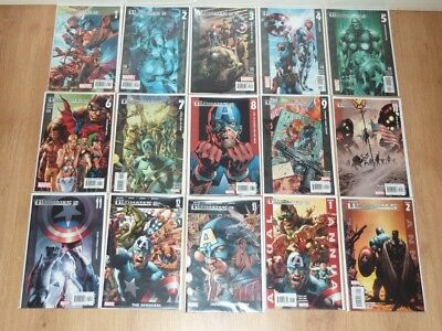 Ultimates 2 1 to 13 + 2 Annuals Marvel 2005 to 2007 VFN to NM Full 15 Comic Set