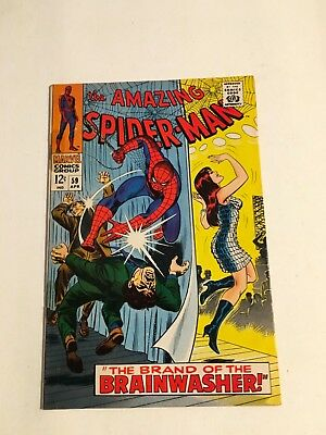 Amazing Spider-Man #59-68 Fn-Vf 6.0-8.0 1St Cover App Of Mary Jane, Gwen Stacy