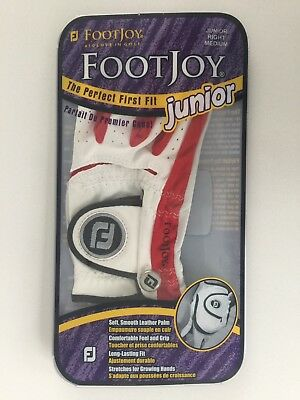 FootJoy Golfhandschuh Junior, Medium, Right, Für Linkshänder