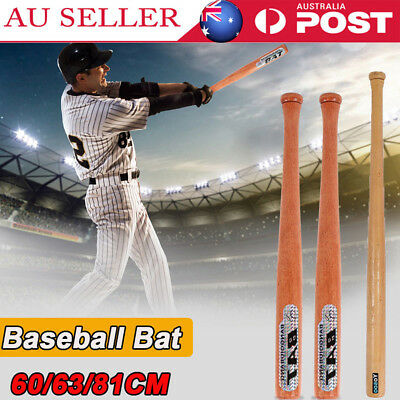 "Outdoor Wood Baseball Bat Wooden 24""25""32"" 60/63/81cm High Quality Softball Bat"