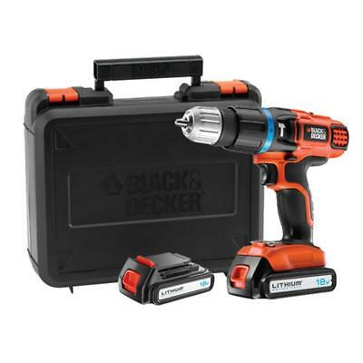 Black & DEcker EGBL188KB Perceuse visseuse sans fil 18V Coffret et 2 batteries