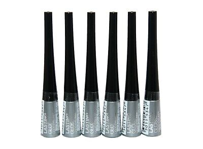 6 x Maybelline Lasting Glossy Liquid Eyeliner | Silver  | Wholesale
