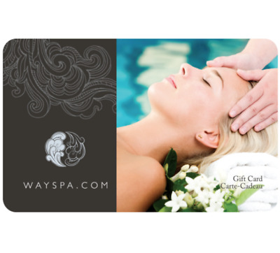 Wayspa Gift Card $25, $50, or $100 - Email delivery