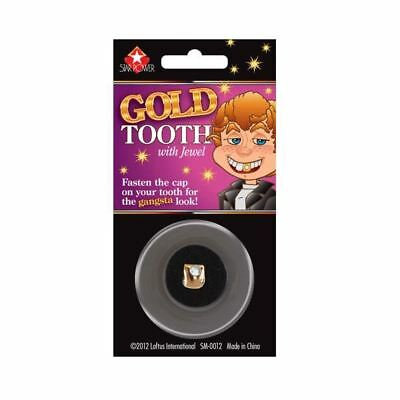 Gold Tooth with Jewel