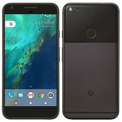 "Google Pixel XL Phone 5.5"" Display 32GB Black Verizon + GSM Unlocked Smartphone"