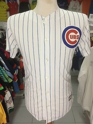 Baseball Trikot Chicago Cubs (L Youths)#14 Daly Majestic MLB Shirt Jersey Maglia