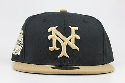 8817c7e263f338 New York Giants 1905 World Series Polo Grounds Patch New Era 59FIFTY Fitted  Hat