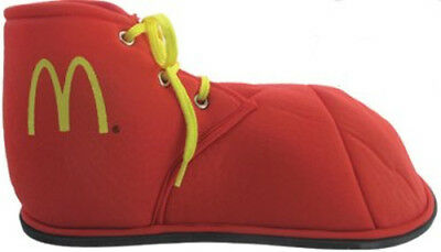 McDonald's Costume Clown Red M Logo Ronald Mcdonald Fabric Child Shoes