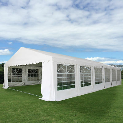 White 20'X40' Wedding Tent Shelter Heavy Duty Outdoor Party Canopy Carport 2018
