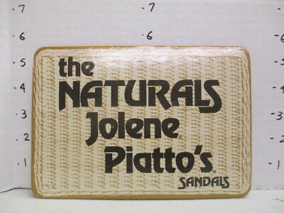 JOLENE SHOES Piatto Italian sandals 1960s store display sign women's clothing