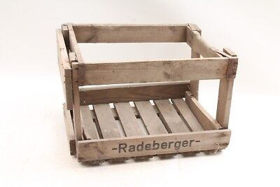 Beautiful Old Wooden Box Box Vintage Radeberger Transport Chest Loan Packaging