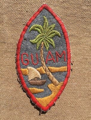 WWII Theater made Guam patch ww2