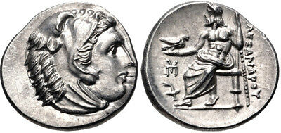 KINGS of MACEDON. Philip III Arrhidaios. 323-317 BC. AR Drachm (18mm, 4.31g)
