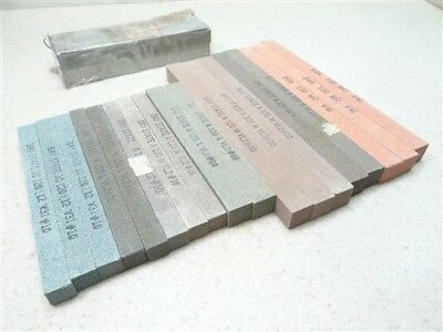 "24Pc New! Assorted Abrasive Sticks 1/2"" & 5/8"" Baystate Cincinnati"