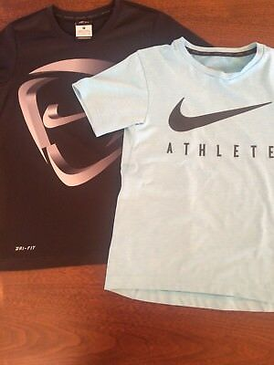 Nike Boys Tops Running Soccer Sport Size Small 8-10