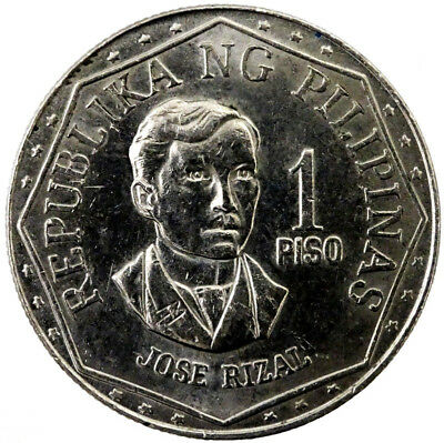 1976 Philippines 1 Piso Actual Photos Shown Lot #NW5138