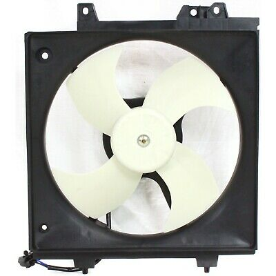 motor /& shroud A//C Condenser Cooling Fan For 2000-2004 Subaru Outback w// blade