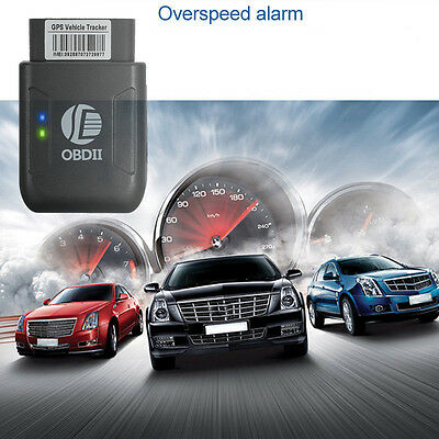 OBD2 II GPS Tracker RealTime Personal Car Vehicle OBDII GSM GPRS Tracking Device