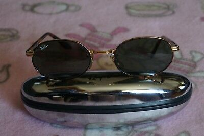 Vintage Ray Ban B&l Sidestreet Sunglasses Gold/tort With Silver Case -Ex Cond