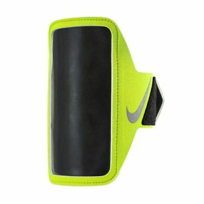 Nike Lean  Lightweight Smartphone Phone Arm Band  Running Gym Sports Yellow