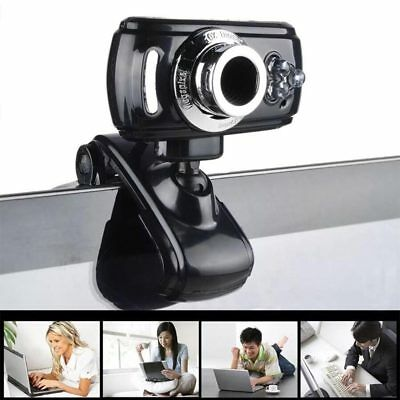 Full HD 50MP Webcam USB 3 LED Video Camera with Microphone for PC Laptop Skype
