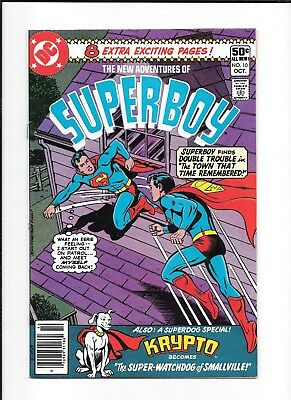 New Adventures Of Superboy #10 (Vf) Dc Bronze