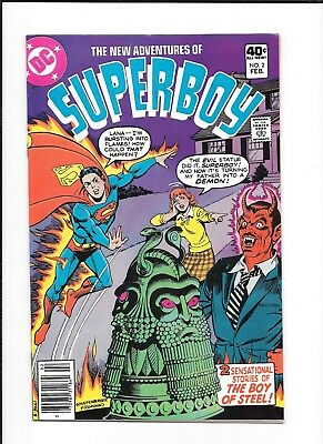 New Adventures Of Superboy #2 (7.5) Dc Bronze