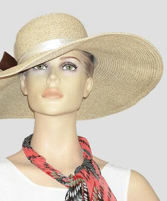 139b009042094 D Y SUNHAT FLOPPY Paper Straw Packable Crushable UPF 50 Women s ...