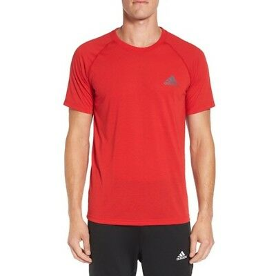 Adidas Men's Climalite Ultimate TEE Short Sleeve Performance T-Shirt X-SMALL NEW