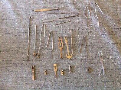 CLOCK  PARTS PENDULUM LEADERS AND PARTS EX CLOCKMAKERS SPARE PARTS 50-100mm