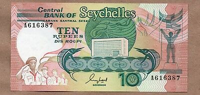 Seychelles - 10 Rupees - Nd1989 - P32 - Uncirculated