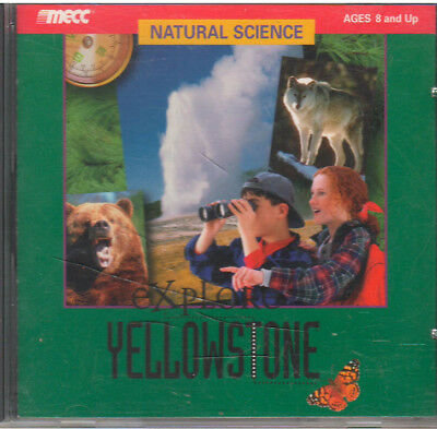Explore Yellowstone (Pc, 1996)